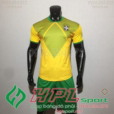 áo đội tuyển Brazil training màu vàng 2020