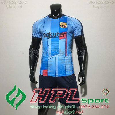 áo Barcelona màu xanh ngọc 2020