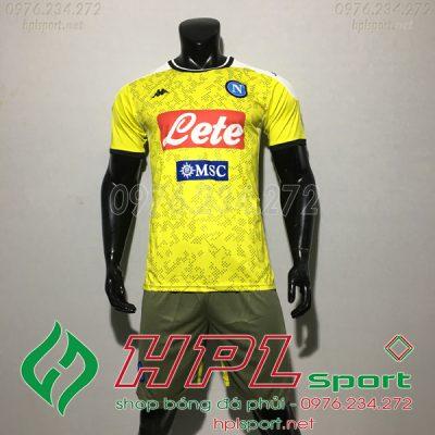 Áo CLB Napoli Màu Vàng 2020 2021 Đẹp