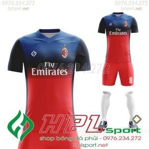 Áo đá bóng thiết kế AC Milan 2021