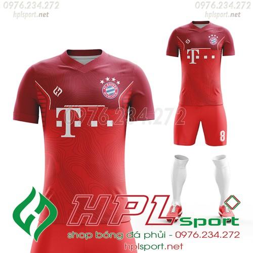 Áo bóng đá Bayern Munich 2022