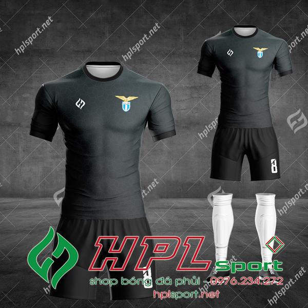 Mẫu áo bóng đá CLB Lazio màu đen đẹp 2021
