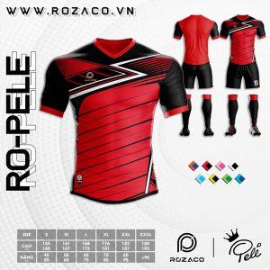 Áo bóng đá đuôi tôm màu đỏ