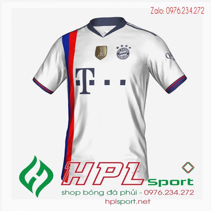 Áo bóng đá Bayern Munich 2022 màu trắng