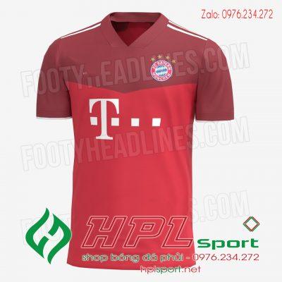 Áo bóng đá Bayern Munich 2022 màu đỏ